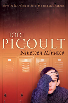 19 minutes Who has the right to judge who is a major theme within nineteen minutes it is something asked over and over again throughout the book and society today.